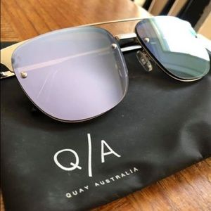 Purple Quay Sunglasses.